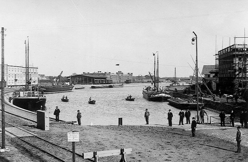 Hafeneinweihung 1899