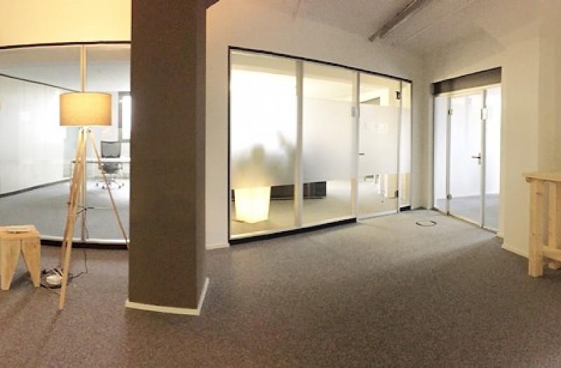 Büroeingangsbereich