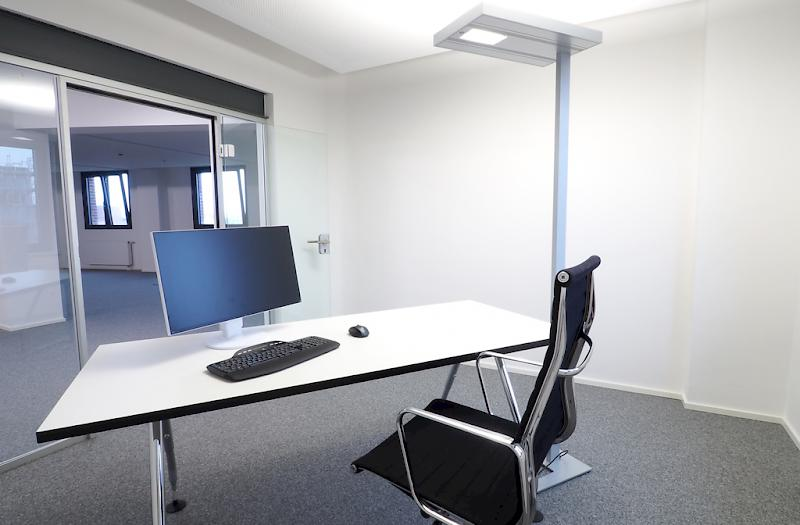 Office 4 mit Blick ins Foyer